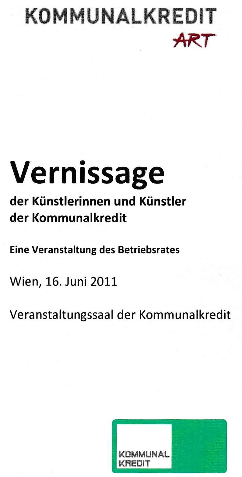 Mitarbeitervernissage Kommunalkredit Austria AG (2011)